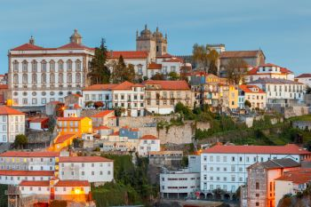 Porto. Aerial view of the city.